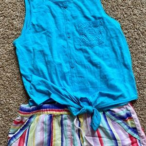 Girls size 14-18 tops shorts and dresses